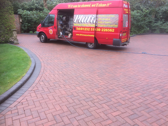 Patio & driveway cleaning Hampshire