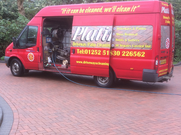 Driveway & Patio cleaning Hampshire