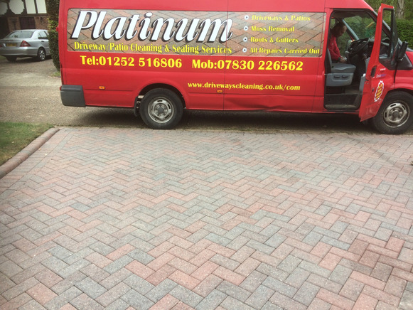 Driveway & Patio cleaning Surrey